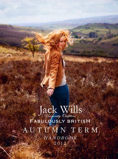Come play with the #JackWills Autumn 2012 Handbook