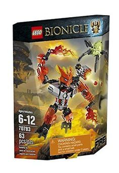 LEGO Bionicle 70783 Protector of Fire Building Kit NEW, Free Shipping