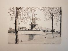 Holland Windmill, Kinderdijk!!