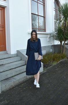 Pascale from NZ fashion blog wearing Blak the label Street Style Blog, Two Best Friends, High Neck Dress, How To Wear, Dresses, Fashion, Turtleneck Dress, Vestidos, Moda