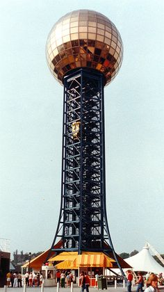 The Sunsphere was constructed for the 1982 World's Fair in Knoxville, TN.