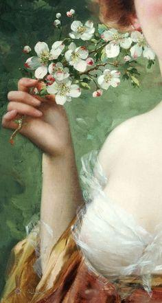 Mani di fata... Fairy hands... Renaissance Kunst, Renaissance Paintings, Aesthetic Painting, Aesthetic Art, Classic Paintings, Beautiful Paintings, Victorian Art, Classical Art, Art Plastique