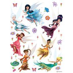 Wall sticker wall tattoo wall decoration TÜV - Disney princesses princess 65 x 85 cm / '' x '' Tinkerbell Characters, Tinkerbell And Friends, Tinkerbell Disney, Disney Fairies, Disney Characters, Face Characters, Hades Disney, Walt Disney, Disney Art