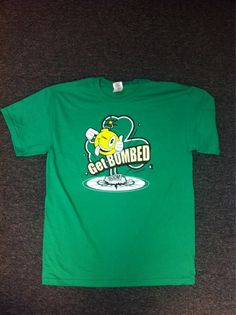 """#stpatricksday Time Bomb Shirts! being given away on CU campus @ The UMC from 12- 1 pm! The best part of owning one of these shirts is that if one of our """"bombbassadors"""" sees you wearing it, they will buy you a drink...for the rest of your life. Come and get em!!!"""