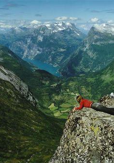 live on the edge.