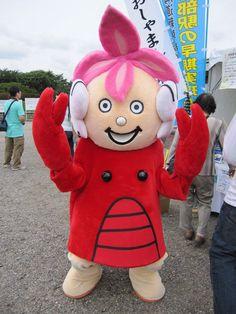 Manbe Kun, mascot of Hokkaido, Japan