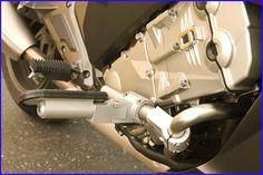 HIGHWAY PEGS, FITS STOCK ENGINE GUARD BARS, K1600GT/GTL