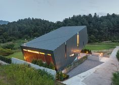 Praud's Leaning House is tilted upwards to maximise exposure to views