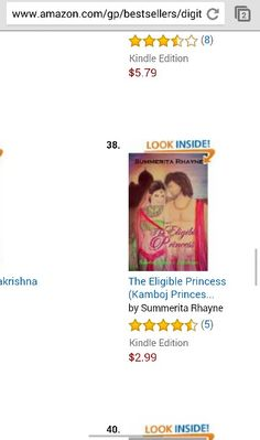 Still in top 100 paid at Amazon.com The Eligible Princess bestseller historical http://www.amazon.com/dp/B00Z09FAQA
