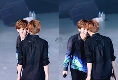 Minhyuk and Eunkwang ❤