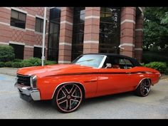 WICKED 1972 CHEVROLET CHEVELLE SS CONVERTIBLE | HOT CARS
