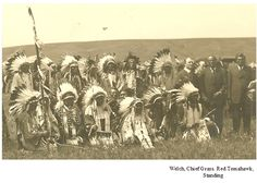 Sioux who fought Custer, June 5, 1913 photograph