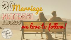 If you're looking for a little encouragement as you peruse Pinterest, here are 20 Christian Marriage Pinterest Boards!