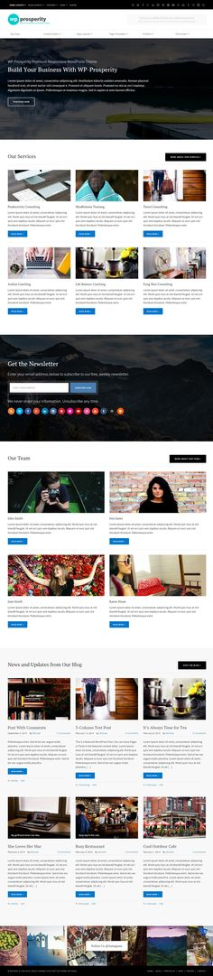 WP-Prosperity Premium WordPress Theme