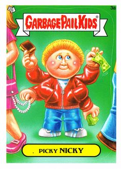 garbage pail kids | BRENT ENGSTROM'S BLOG: BRAND NEW SERIES GARBAGE PAIL KIDS !!!