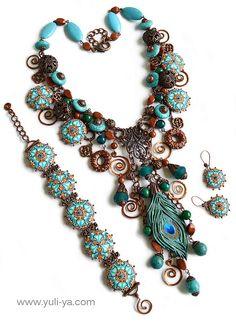 Gamayun (Amazing jewelry by Yuli-Ya)