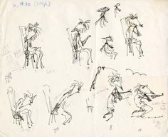 More Tim Burton sketches