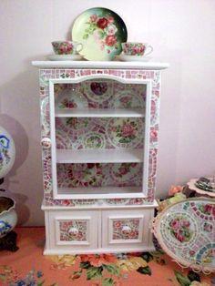 Mosaic cupboard