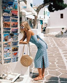 "13.5k Likes, 115 Comments - Faithfull the Brand (@faithfullthebrand) on Instagram: ""Wandering the streets of Mykonos Town in the #KatergoMidiDress • New arrivals available online &…"""