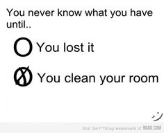 You never what you have until..