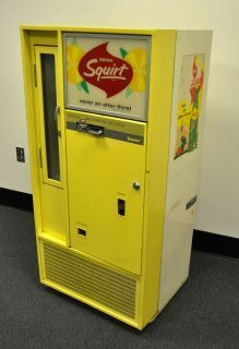 Squirt soda vendor