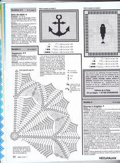Журнал: Ideal Crochet №07 (салфетки) - Вяжем сети - ТВОРЧЕСТВО РУК - Каталог статей - ЛИНИИ ЖИЗНИ