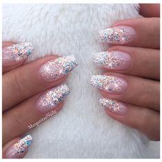 Glitter Ombré - Nail Art Gallery