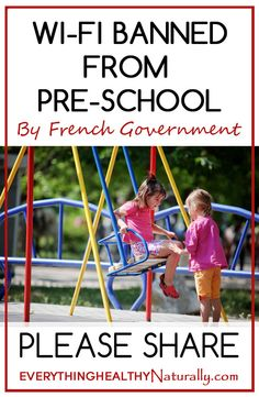 WiFi Banned From Pre-School by French Government