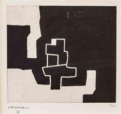 Eduardo Chillida (1924-2002), Aldizkatu II, 1972. Prints and multiples, etching. Plate size: 22.5cm H 25.3cm W. Edition of 50 copies.