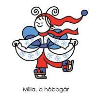 A sorozat szereplői | Bogyó és Babóca Hobbit, Smurfs, Illustration, Cartoon Ideas, Fictional Characters, Sport, Amigurumi, Embroidery, Deporte