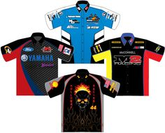 fd04a53b USA Racing Apparel-Sublimated Racing Shirts-Design Your Own Pit Crew Shirts,  Races
