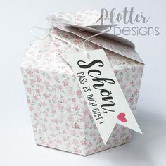 Plotterdatei Cookie-Box von PlotterDesigns Cricut, Container, Design, Paper, Binder, Goodies, Packaging, Tutorials, Create A Critter
