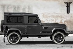 Behold The Flying Huntsman Defender : This is Kahn's latest, the $187,000 Flying Huntsman Land Rover Defender 105.
