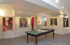 Sala mostre Circolo Artisti Torino