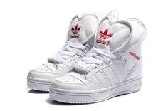 Adidas Js 2 Tongue GS - Chaussure Adidas Pas Cher Pour Femme/Enfant Blanc