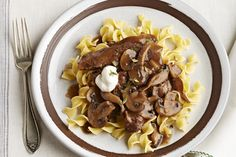 We've simplified the classic beef stroganoff and made it effortless. This Slow-Cooker Beef Stroganoff Pot Roast recipe will have you saying farewell to your old beef stroganoff recipe.