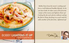 Bobby's Lighter Shrimp and Grits
