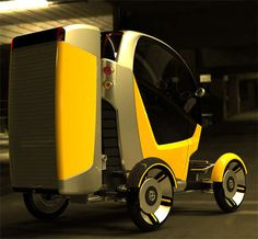 Cute Carrier Cars: CarGo Truck by Adam Schacter is a Compact Delivery Boy