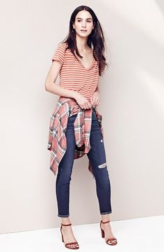 Paige Denim Shirt, Tee & Jeans available at #Nordstrom