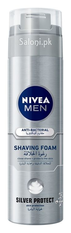 Greater protection from damage is possible with the advanced anti-bacterial formula containing Silver Ions to deliver a clean and close shave.