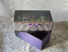 """Купить Шкатулка """"Violet"""" - фиолетовый, Декупаж, роспись, имитация кружева, шкатулка для украшений, шкатулка для мелочей"""