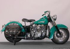 1949 Harley Davidson FL Panhead ~Sid's ride is a '49 Panhead, of course it doesn't have wheels being a bonded mage bike and all.