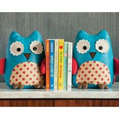 owl bookends from Skip hop, cute!