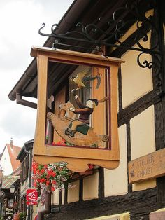 Toy Store Sign, Alsace