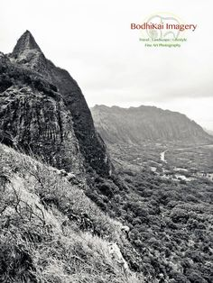 Over the Pali. Pali Lookout, Oahu, Hawaii 11 x 14 by bodhikaiimagery, $50.00