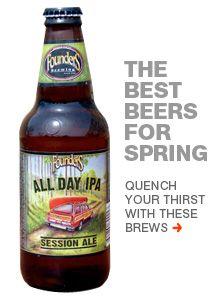 THe 9 best beers for spring: http://www.menshealth.com/jimmy-bartender/best-spring-beers?cm_mmc=Pinterest-_-MensHealth-_-Content-BL-_-BestSpringBeers