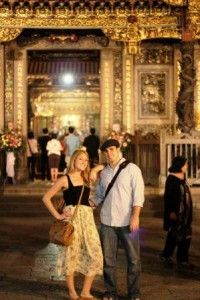 Zach and Shay in Taiwan: This month we talk to a young couple about their time teaching English in Taipei. Zach and Shay are high school sweethearts who made the move to Taiwan from Chicago. Read on to hear about their unique and interesting insights into Taiwanese culture and their observations on life in Taiwan.