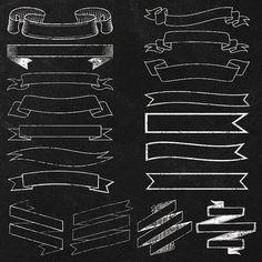Chalkboard Mega Pack Save 25 Clipart by JubileeDigitalDesign