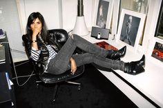 Por redacciones en las que todos vistamos como Emmanuelle Alt, la editora de Vogue Paris