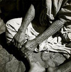 androphilia:  Moroccan tattoos